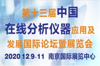 第十三届中国在线分析仪器应用及发展国际论坛暨展览会